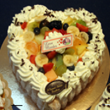 Cream cake by Bakery Emmerix out of Riemst Vroenhoven and Eben Emael Bassenge Luik