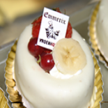 White pastry by Bakery Emmerix out of Riemst Vroenhoven and Eben Emael Bassenge Luik